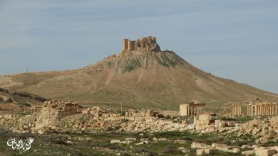 قلعة متربعة على عرش مدينة